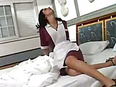 Tranny maid getting laid