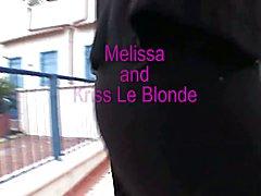 Tranny Art Blonde MILF in full length body stocking fuck a t  - clip # 02