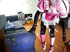 Sissy Slut Icelock Hogtie
