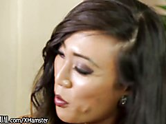 TransSensual Venus Lux Takes Tatted Male Escort for Ride