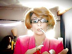Smoking MILF Sissy