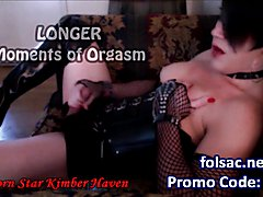 White Trannies Kimber and Raven Share BBC POV