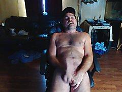 Redneck july 21 Stroking a messy Cum shot fer yall