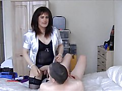 Maria Satin's - Landlady's Satin Fun Part 4