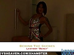Benzy BTS at Ladyboys Heaven