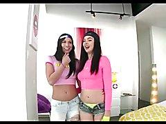 Close-ups 9 ( Three girls, pussy, ass, boobs, anal )
