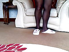 Cum in daughter in law size 4 girlie slippers