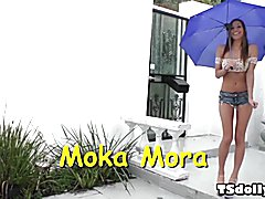 Moka Mora and her tranny friend Chelsea Marie