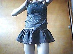 Shemale Miniskirt