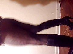 myself cuteveronica doing Happy new years video