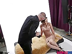 Photographer Gets Taught How To Fuck By a Horny Tranny Model - See Full Video at ShemaleDream.Tube