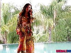 TS Venus Lux Fucks Blonde Babe Sarah Vandella - Full Video at ShemaleDream.Tube