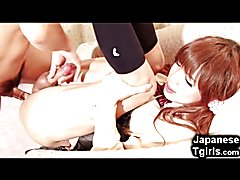 Japanese TRANSSEXUAL Schoolgirl Best Fuck Ever!