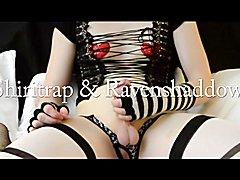 Beautiful transgender girl Shiritrap & Ravenshaddows  - clip # 02