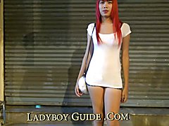 Empowered Thai Ladyboy With Pink Ejaculate  - clip # 02