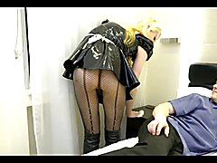 Blonde Tgirl Fuck  - clip # 02