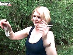FunMovies German mature housewife fucked outdoor  - clip # 07