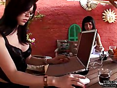 PINKO SHEMALES The Shemale treatment  - clip # 03