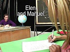 Tranny Art She male sexual encounter for teacher in the clas  - clip # 05