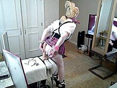 Bimbo Schoolgirl Training