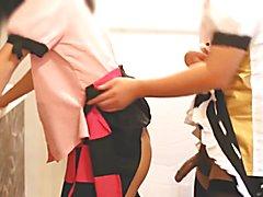 aya shameimaru & hatate himekaidou crossdresser cosplay