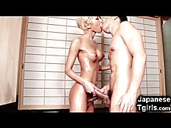 Japanese TRANSSEXUAL Miran Insane Ejaculation!