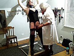 Jeanne Visits Nurse Samantha  - clip # 02