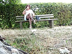 Ladyboy chillin in the Park
