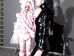 Mistress Using Her 2 Cd Slaves Well