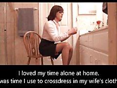 Husband caught crossdressing
