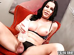 Very tasty looking transgirl marissa minx fucks a fleshlight