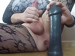 Kelly's toys and solo fisting, enormous ejaculation