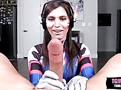Cosplay dva outfit pov sex with korra del rio