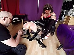 Analia punished by us two