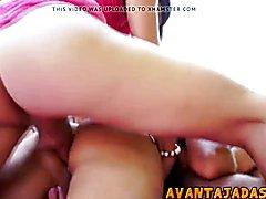 Suruba com transex safadas  - clip # 02