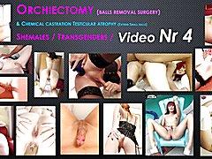 Orchiectomy ts porn stars v4 ( no balls )
