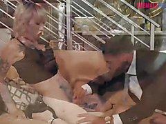 Inked ts Lena Kelly gets butt drilled - Transangels - Full Video at ShemaleDream.Tube