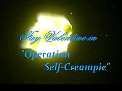 Self creampie crossdresser trans!
