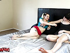 3Some with sister and tran 1