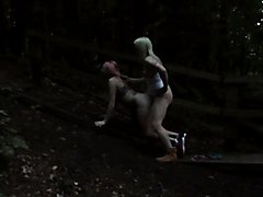 If you go down to the woods tonight.... raw anal is on the cards
