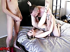 3Some with sister and tgirl 2