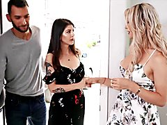 (aubrey kate) fucked condomless by her old college roommate - transangels