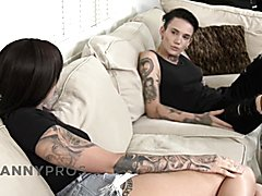 Trannypros emo lesbian couple want casey's prick inside!