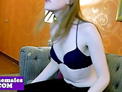 Dominating shemale toys subs asshole  - clip # 02
