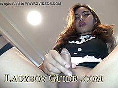 Appealing tgirl too tight