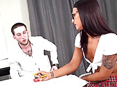 Transerotica tv schoolgirl khloe kay pounded before facial