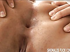 Lets have a threesome with a sexy shemale  - clip # 03