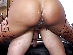 Transbella - fat butt latin transsexual haycka montoanelly has hardcore anal with