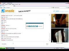 Omegle Chatroulette reactions surprise 1