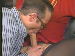 Big vintage shemale cock sucked